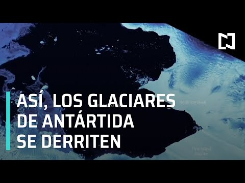 Ritmo en que se derriten los glaciares de la Antártida se quintuplica - Despierta