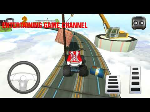 Impossible Monster Stunts Game Android Gameplay Free Games