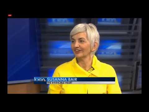 """Susanna & Puran Bair: """"Susanna Bair explains """"The Invincible Heart"""" on NBC, Austin"""""""