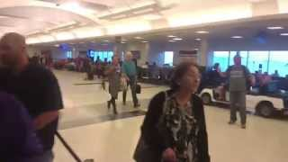 Walking Around George Bush Intercontinental Airport in Houston, TX