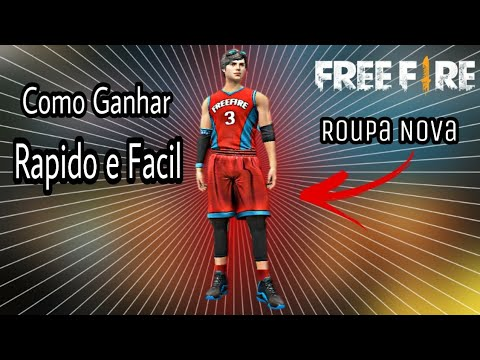 a38790de7 COMO GANHAR RAPIDO A NOVA ROUPA DE BASQUETEBOL NO FREE FIRE - YouTube