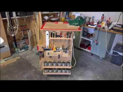 Mobile Workstation / Shop Cart - Woodworking