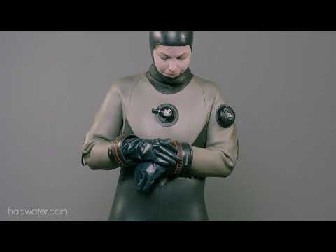 Frogwoman Anne GNT Drysuit Undress - 4K Preview