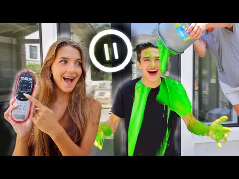 I DID THE PAUSE CHALLENGE WITH MY SISTER!? - Brent Rivera