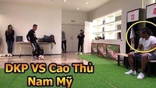 Thử Thách Bóng Đá Đỗ Kim Phúc Việt Nam so tài cao thủ nam mỹ và nhận quà từ La Liga
