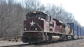 HD: March Madness 2015 Railfanning
