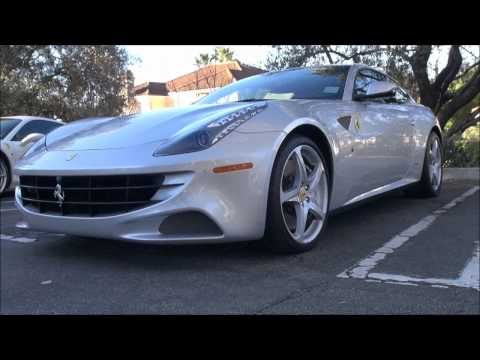 Ferrari FF in Los Angeles-Acceleration, Driving and Video!