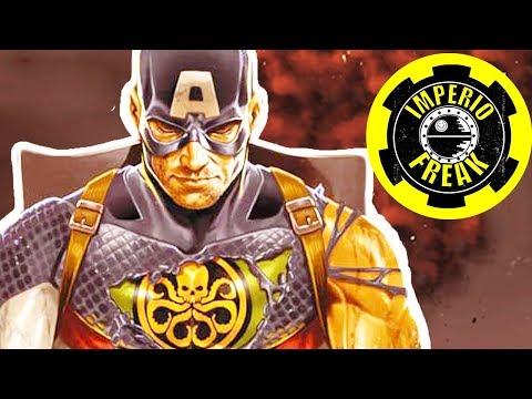 Secret Empire: Capitán América TRAICIONA a Todos - Historia completa (VIDEOCOMIC NARRADO)