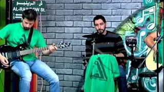 """فرقة """"أخضر باند"""" يقدمون أغنية """"صفينا على البلاطة"""""""