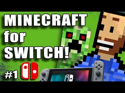 01 - SURVIVAL - Pure Vanilla, No Edits, No Timelapse. Solo Survival Minecraft on Nintendo Switch