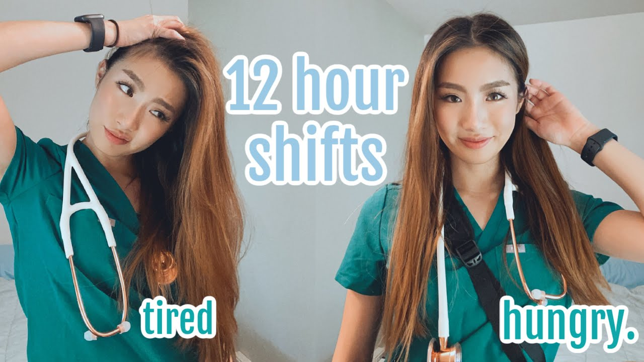 life unfiltered | three 12 hour shifts in a row (it sucked) & being an introvert in healthcare