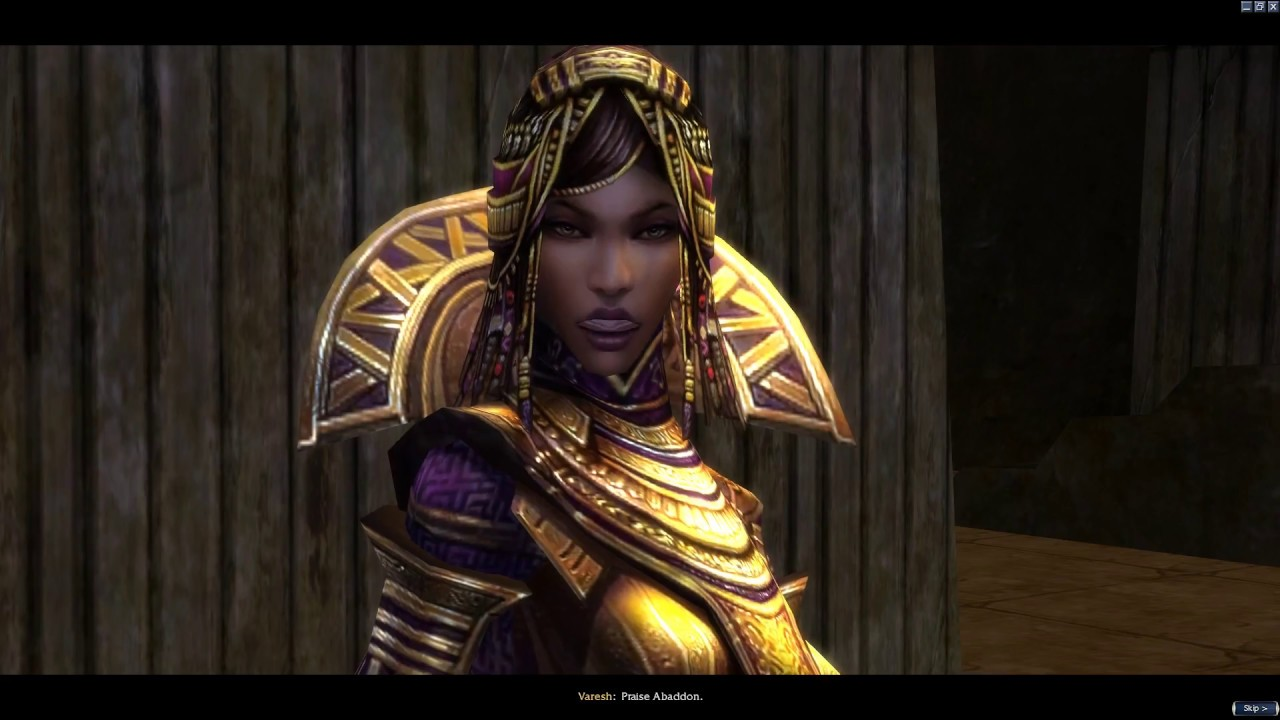 Guild Wars Nightfall Epic Clip of Varesh!!!