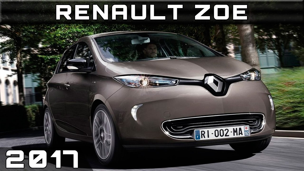 2017 renault zoe youtube. Black Bedroom Furniture Sets. Home Design Ideas