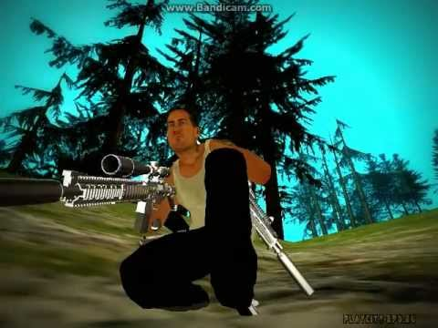 GTA SA:MP | Effect+Ped.ifp+Weapons pack+Weapon sound+Skin 230 [DL]