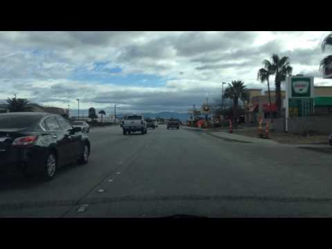Drive from Henderson to Boulder City, Nevada