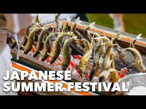 Japanese Summer Festival (Bon Odori)   Chiba prefecture