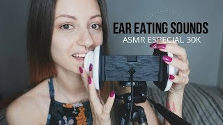 ASMR Ear Eating Sounds #2 / Especial 30k (ENG-SUB)  Nadira ASM…