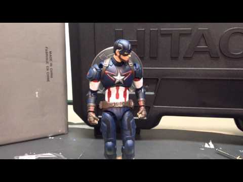 Captain America Stop Motion Part 2
