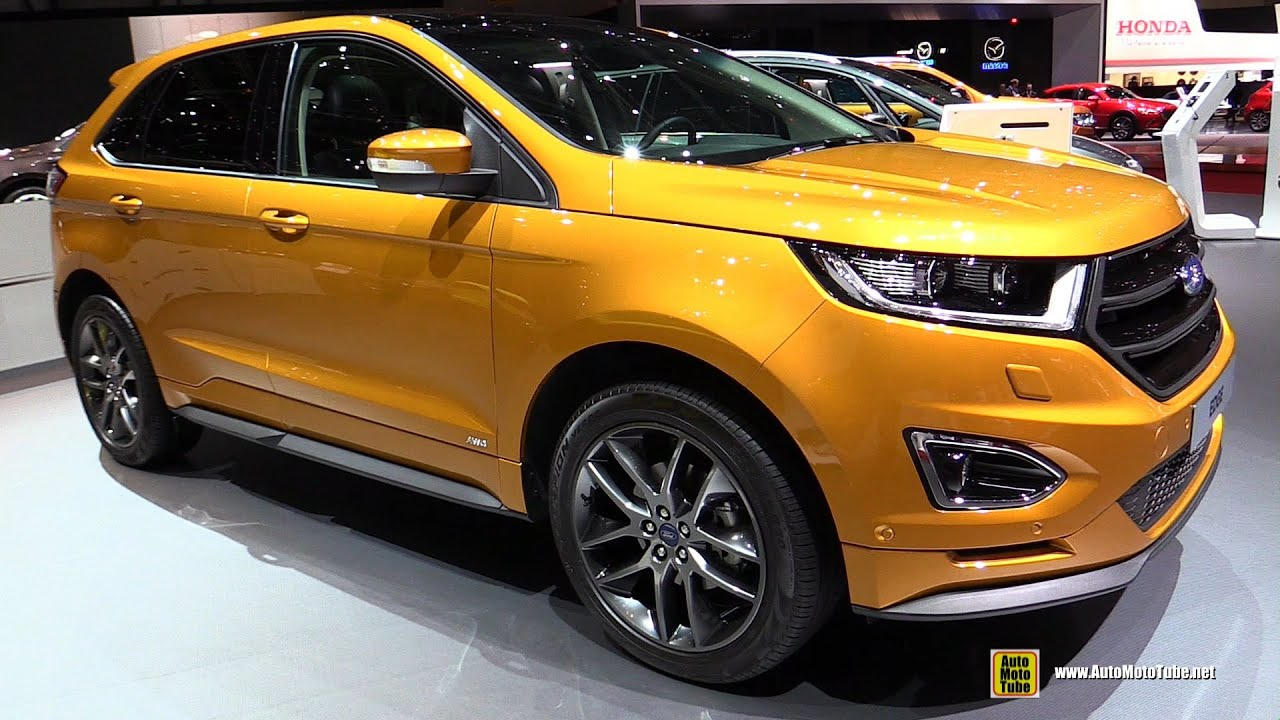 2016 ford edge sport 2 0 diesel exterior and interior. Black Bedroom Furniture Sets. Home Design Ideas