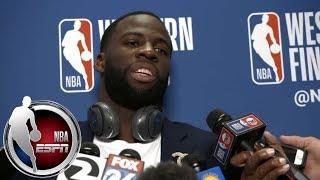 [FULL] Draymond Green explains Warriors' Game 2 loss: It was our 'gameplan discipline'   NBA on ESPN