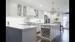 An awkward, closed-off kitchen gets a new layout