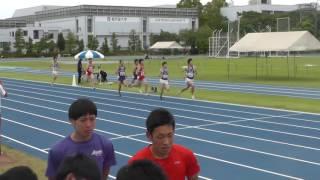 2016 06 04 順大記録会 男子800m 中島、安達剛、髙橋、芝原