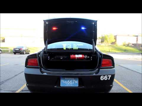 Norwood Police Debut New Fleet Vehicle - 2013 Dodge Charger Pursuit