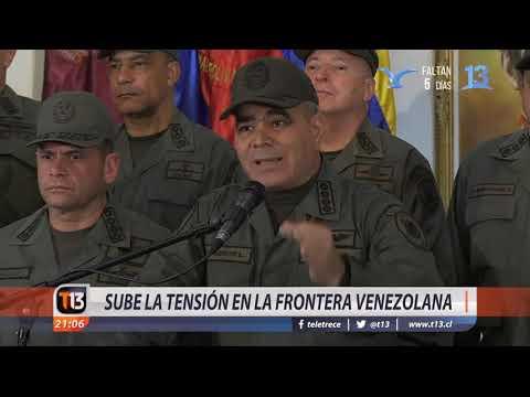 Aumenta la tensión en la frontera de Venezuela
