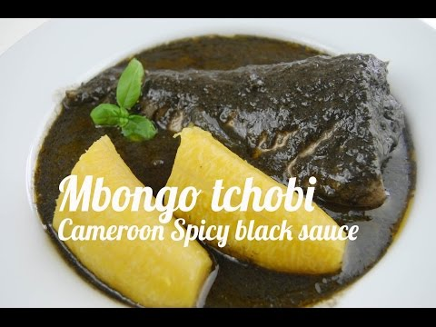 Mbongo tchobi (Spicy black sauce)