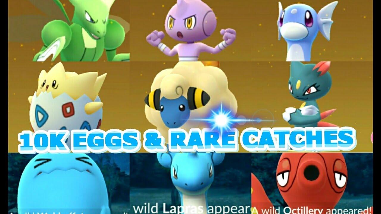 pokemon go how to get 10k eggs