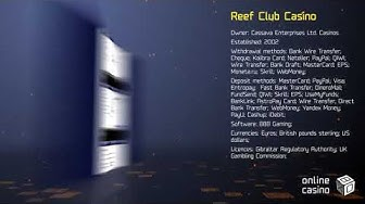 Secrets of the game in Reef Club casino: review by OnlineCasinoBOX.net