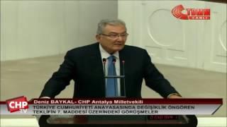 Antalya Milletvekili Deniz Baykal - 7. Madde Görüşmeleri - 12/01/2017