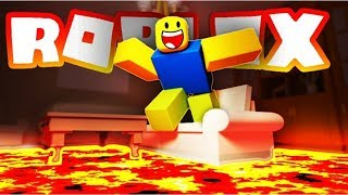 My first vedio roblox floors lava