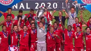 FULL trophy presentation as Bayern lift 6th UCL title | UCL 19/20 Moments