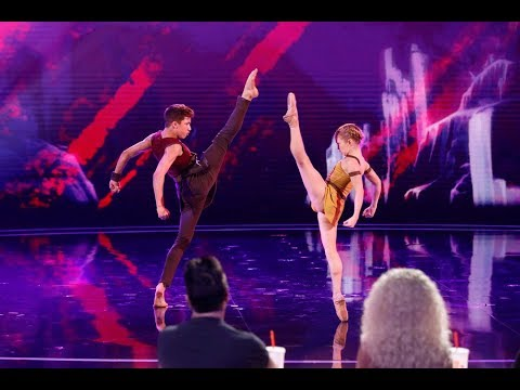 America's Got Talent Judge Cuts 2 Izzy And Easton - Adem Show