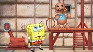Spongebob Mini Games vs The Buddy (New Weapons)#3 - Spongebob Game's Frenzy Vs Kick The Buddy (iOS)