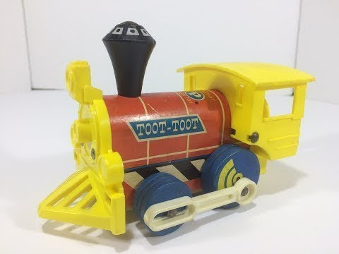 Vintage/Old Fisher Price Toot Toot Toy Train (1964)