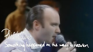 Phil Collins - Something Happened On The Way To Heaven (Official Music Video)