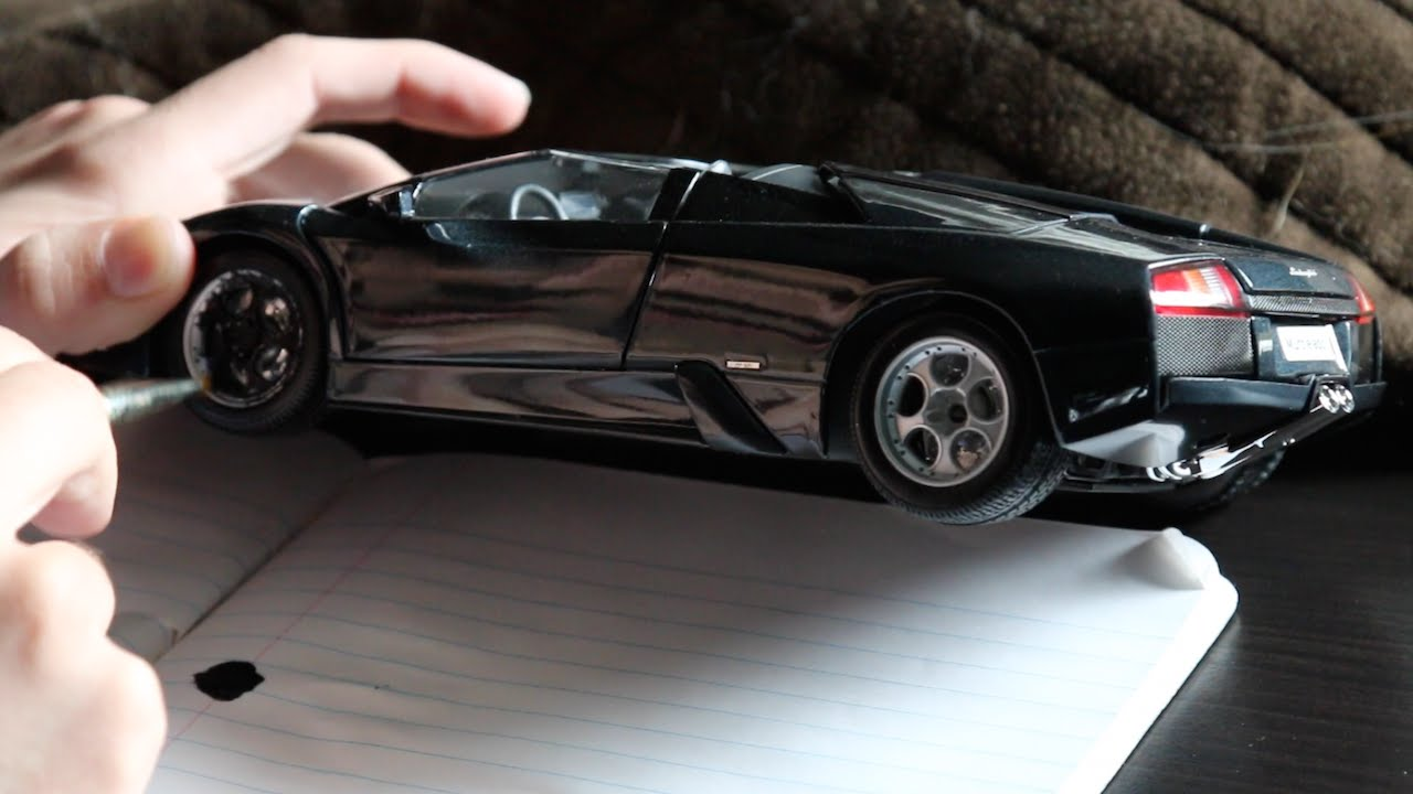 how to paint parts of your model car youtube