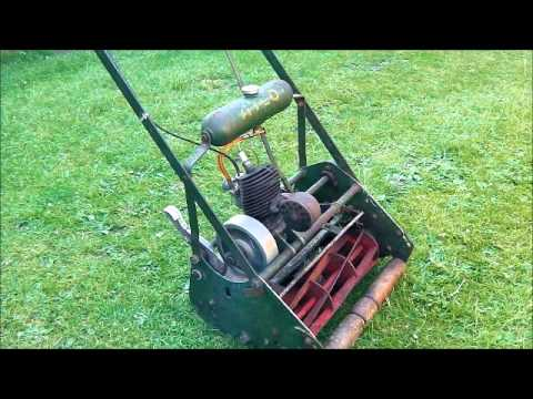 Old fashioned push mower for sale 48