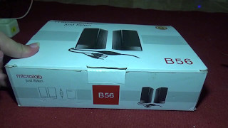 unboxing dan test suara microlab b56 (Indonesia Review)