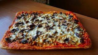 Готовим пиццу🍪 Рецепт пиццы с лесными грибами🍄 Тесто для пиццы