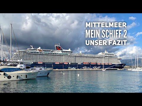 Unser Fazit zur Reise mit der Mein Schiff 2 im Mittelmeer