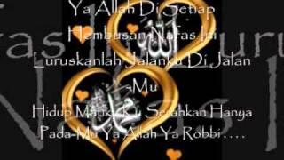 Pada-Mu Ku Bersujud (With Lirik) By Afgan