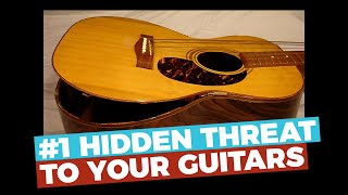 #1 HIDDEN THREAT to your guitars - D'Addario Humidipak - Does it work?
