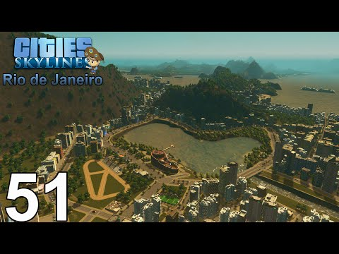 CITIES: SKYLINES (RIO DE JANEIRO) #51 - Jockey Club & Estádio da Gávea (flamengo)