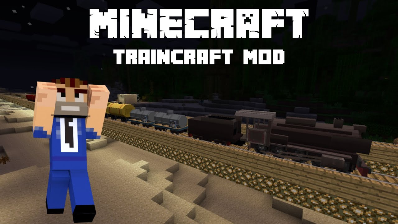 Working On The Railroad Minecraft Mod Review Traincraft