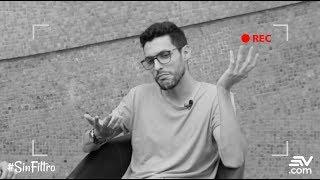 #SinFiltro Sergio Vivar compuso la letra de Prueba de Amor con el 💔