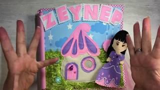 Zeynep' in bebek evi - dollhouse - aktivite kitabı