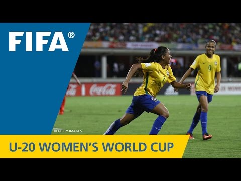 MATCH 1: PAPUA NEW GUINEA v BRAZIL - FIFA Women's U20 Papua New Guinea 2016